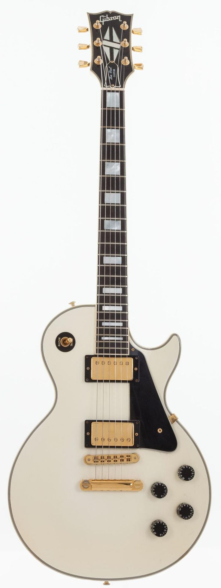1990 Gibson Les Paul Custom White Solid Body Elect - by Heritage Auctions