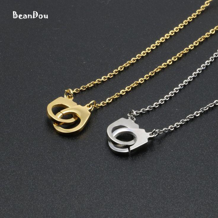 Moda kajdanki naszyjnik srebrny złoty kolor titanium stalowa 45 cm 18 cal łańcuch special biżuteria dla mężczyzn kobiety nowy 2017(China (Mainland))
