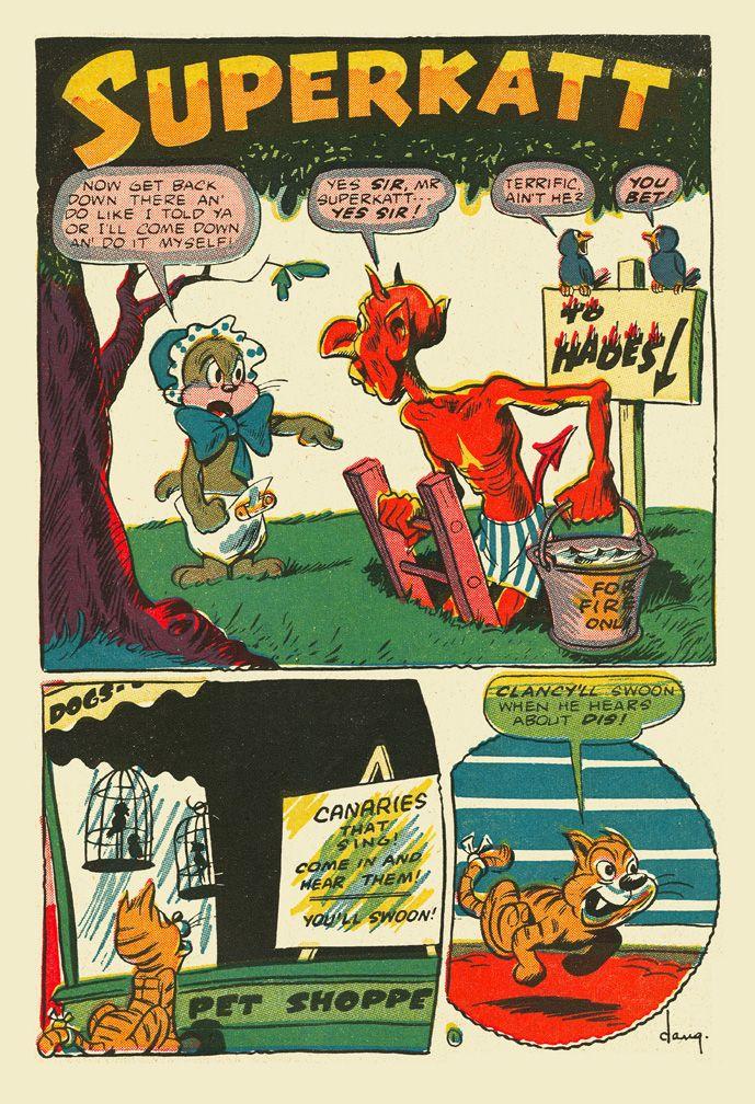 Dan Gordon page from Giggle Comics #25