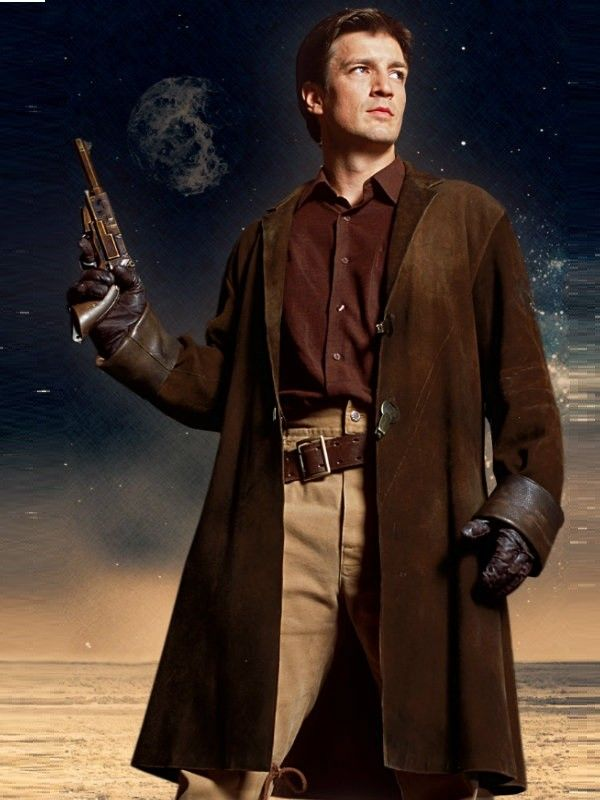 Nathan Fillion as one of my all-time favorite characters ...