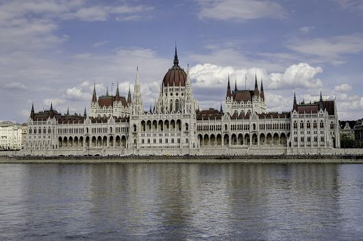 The west façade of the Hungarian Parliament House. - Tony Puah - Google+