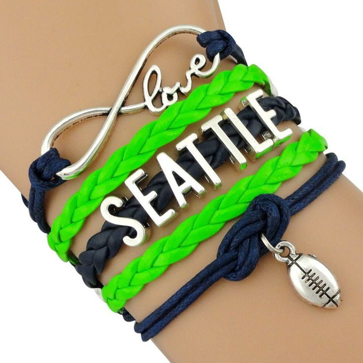 Infinity Love Seattle Football BOGO