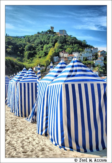 San Sebastián – Donostia. Playa de Ondarreta.  Spain