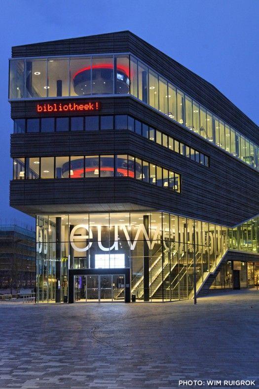 Bibliotheek! Almere, The Netherlands.