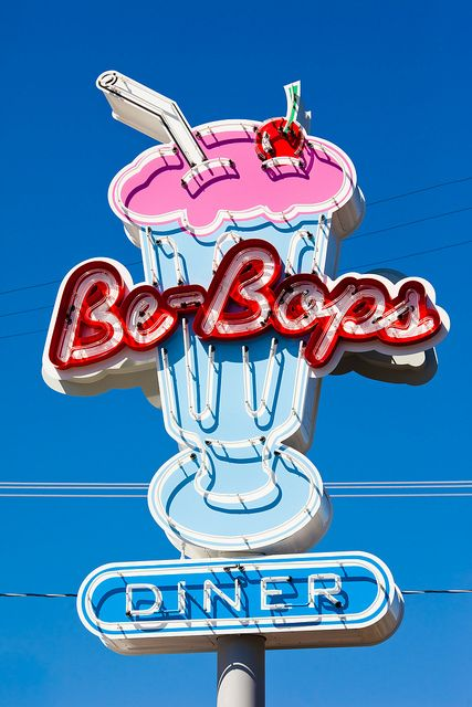 Be-Bops diner in Mendocino, California.  Taken by Thomas Hawk#Repin By:Pinterest++ for iPad#