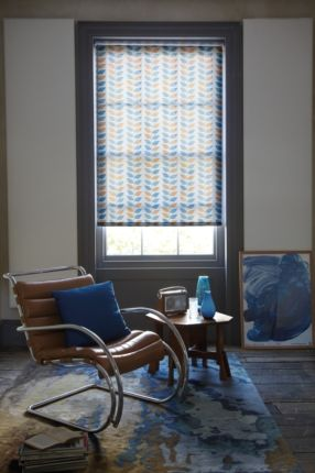 Autumn Laurel Patterned Roller Blind