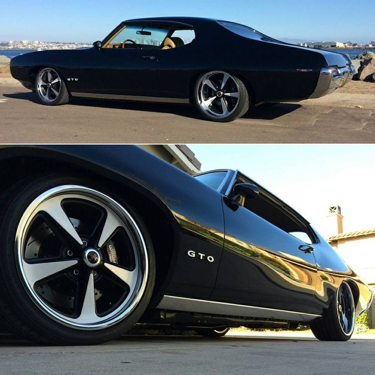 A big thanks to Mike for sending us pictures of his fully-restored and sleek black 1969 GTO. It is equipped with a complete Global West coilover suspension and Wilwood brakes.