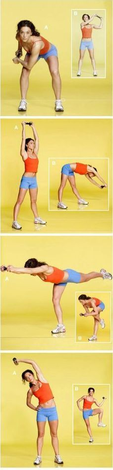 Simple workout to flat abs -  How do you stay healthy?
