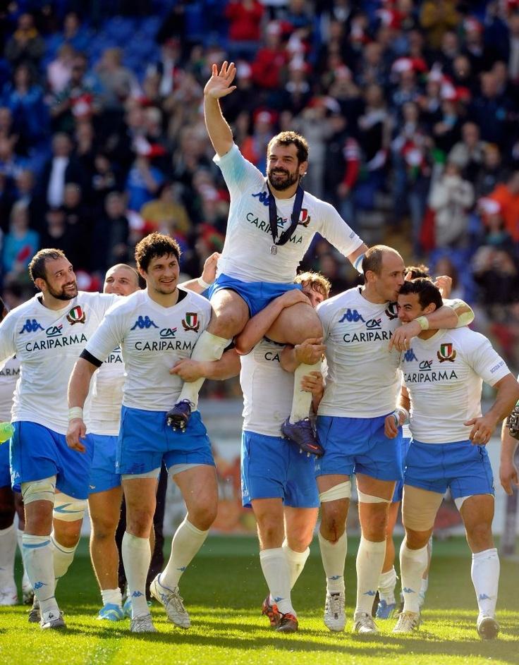 """""""È stato un onore per me giocare l'ultima partita al fianco di Fabio Ongaro, è lui il vero man of the match"""" Martin Castrogiovanni"""