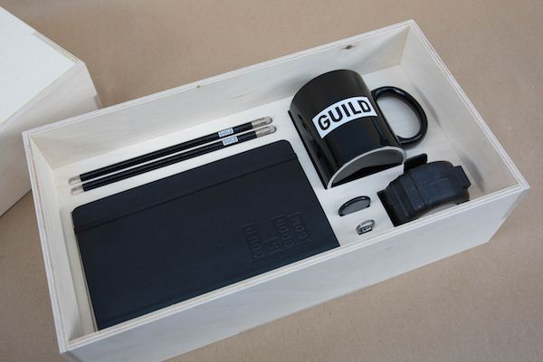 Take A Look At This Creative Agency's Stylish Induction Box For New Employees - DesignTAXI.com