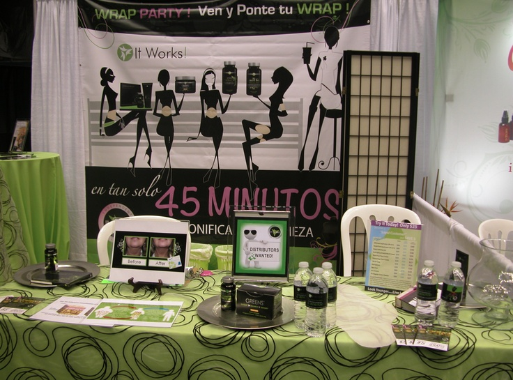 it works table