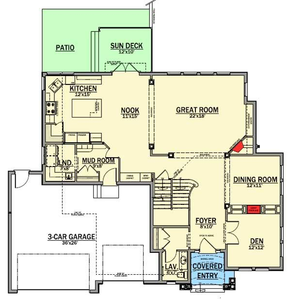 Best 25 columns inside ideas on pinterest cabin floor for Detailed house plans