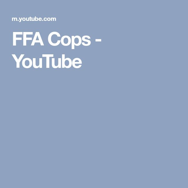 FFA Cops - YouTube