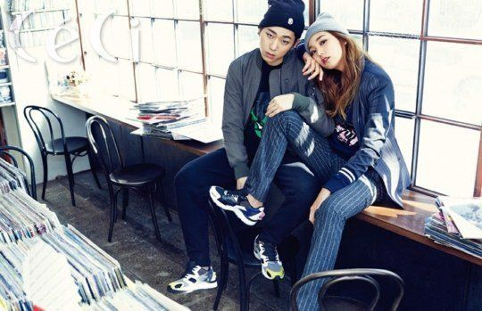 Block B's Zico couples up with model Lee Ho Jung for 'CeCi' | allkpop.com