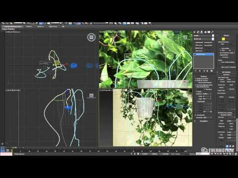 ▶ Modeling a realistic plant with 3ds Max - Tip of the Week - YouTube