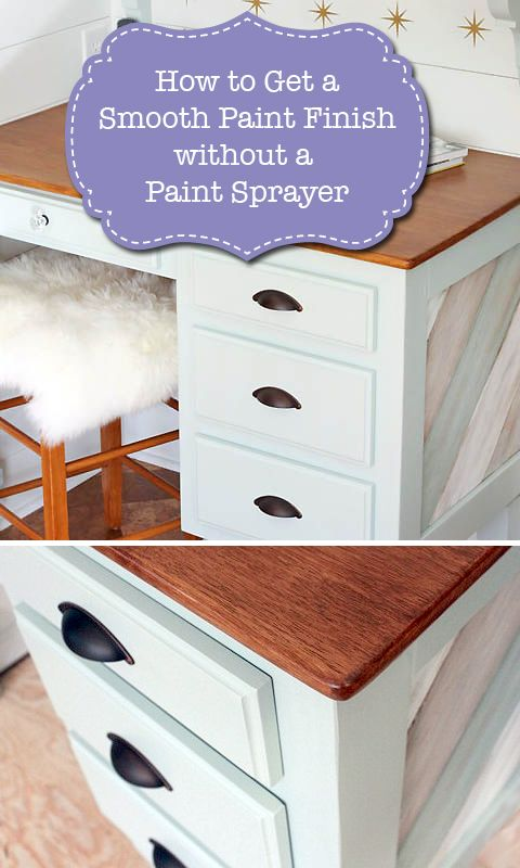 How to Get a Smooth Paint Finish without a Paint Sprayer