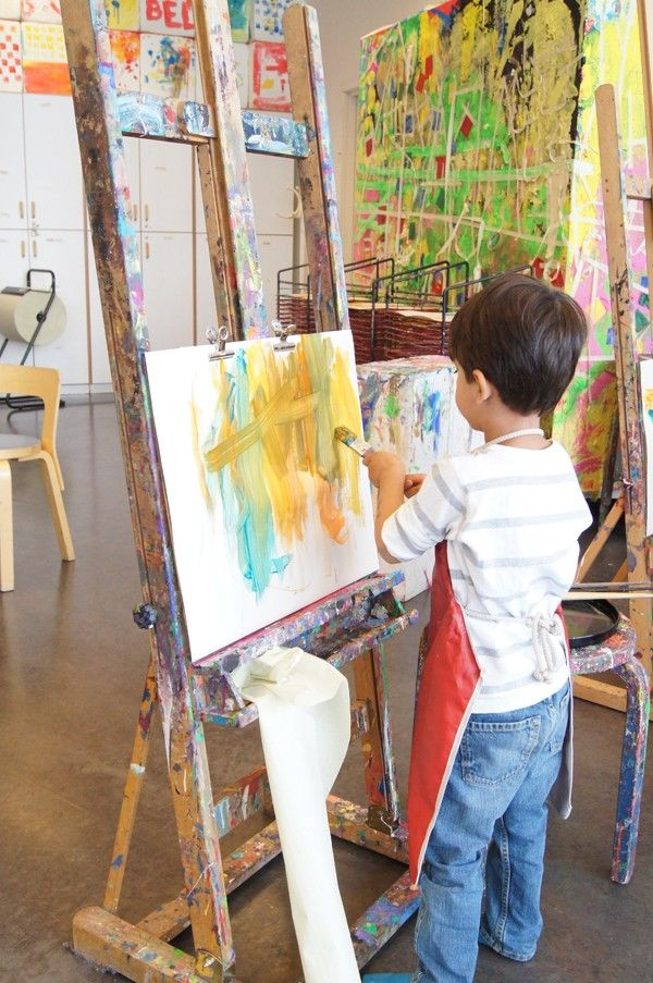 How to get started with process art for pre-schoolers
