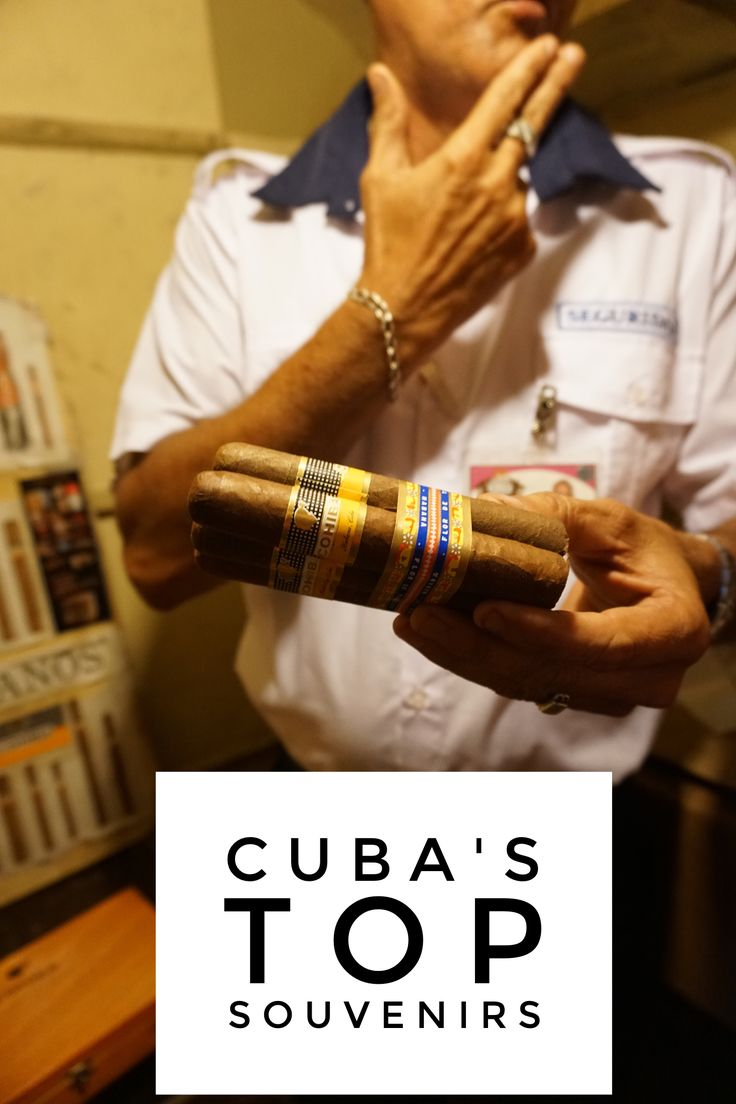 Top souvenirs from Cuba. how to shop for th best legal souvenirs when Americans travel to Cuba.