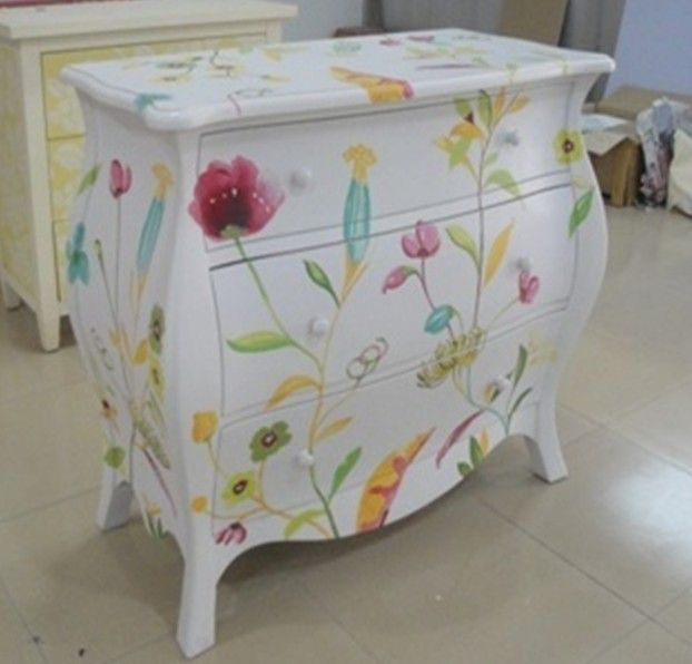 Find This Pin And More On Distress Refinish Repaint China Hand Painted Bedroom