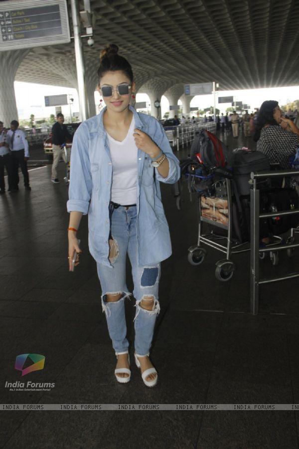 Urvashi Rautela snapped at airport