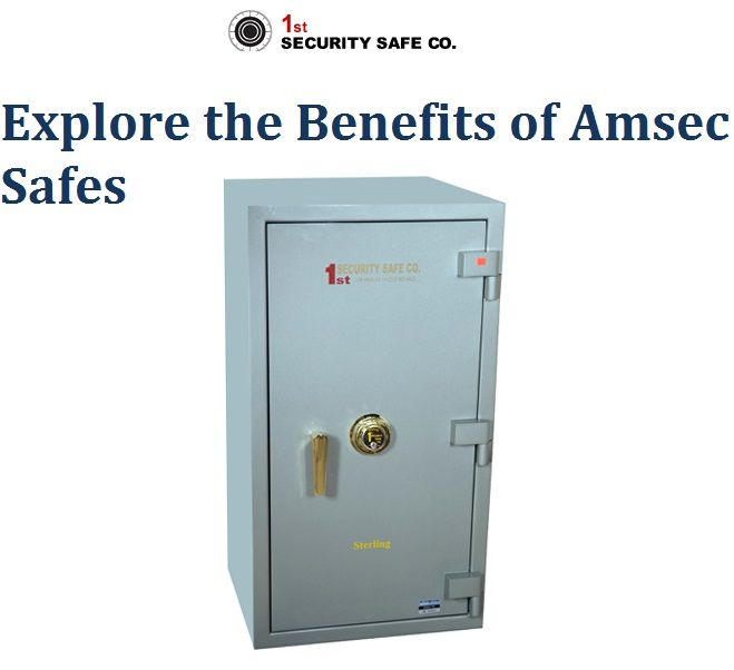 Know the Benefits of Amsec Safes