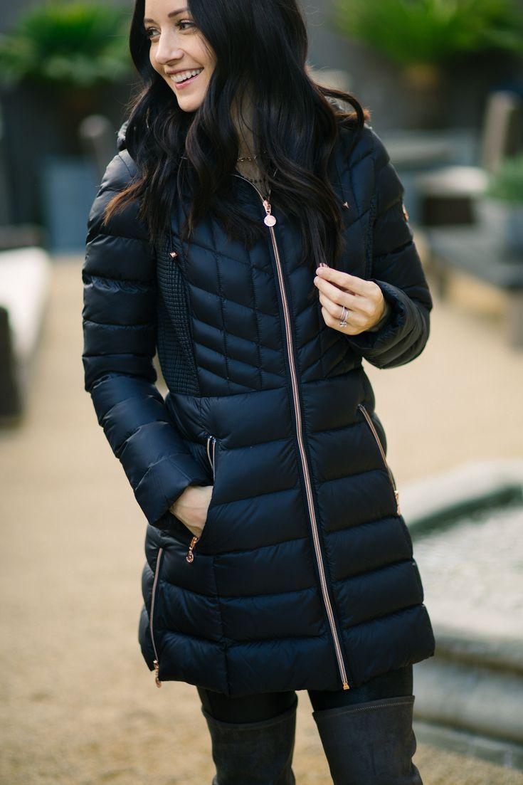 black packable jacket, puffer jacket