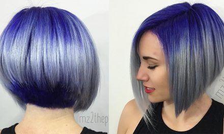 17 meilleures id es propos de cheveux courts violet sur pinterest les couleurs de cheveux - Carre plongeant couleur ...