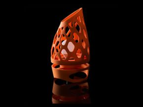 Table Light (small), 3d printed lighting fixture by Udobjects.