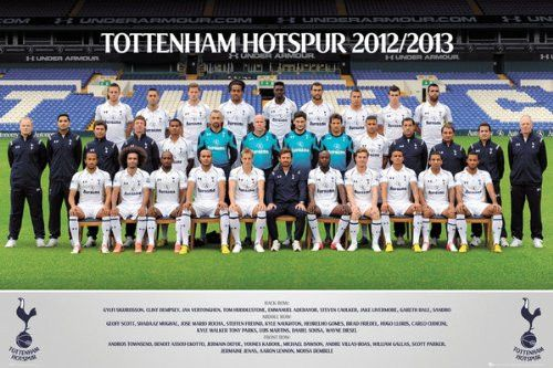 SPT44531 Tottenham Hotspur Team 24x36