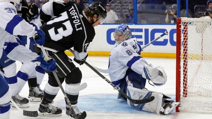 Andrei Vasilevskiy has been everything the Tampa Bay Lightning possibly could have expected and more as their No. 1 goaltender this season.