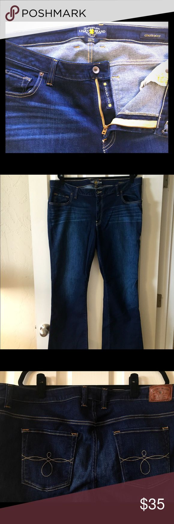 Lucky Brand Jeans Plus size boot cut jeans from Lucky in size 20. Excellent condition, only worn a couple of times! Lucky Brand Jeans Boot Cut