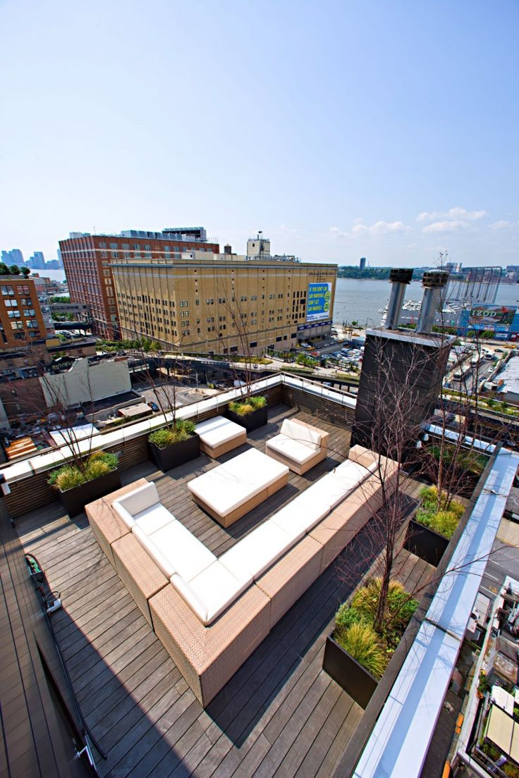 New York City Pent House designed by Innocad - Love it, but what do you do when it rains?