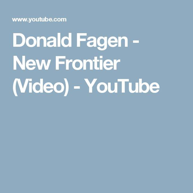 Donald Fagen - New Frontier (Video) - YouTube