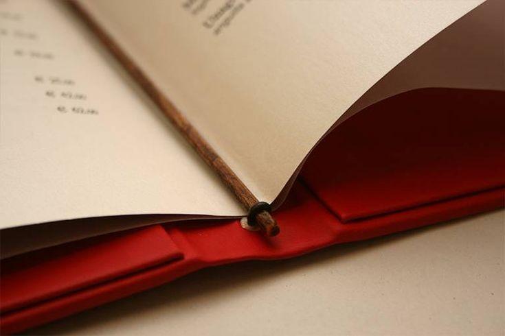 Porta menu Milano37 - dettaglio bastoncino per inserimento pagine