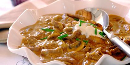 Traditional Beef Stroganoff recipe | Meat recipes | Whats For Dinner