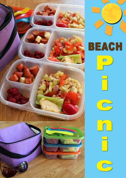 Hubby took our girls to the beach today AND made their lunches. #hesaskeeper