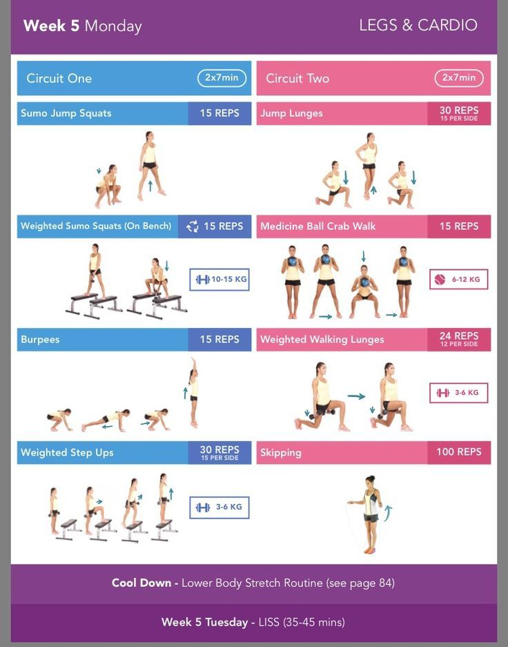 Full Body Workout At Home Without Equipment (Download PDF)