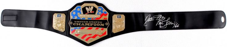 "Ric Flair Signed WWE United States Championship Belt Inscribed ""Nature Boy"" & ""16x"" (JSA COA)"