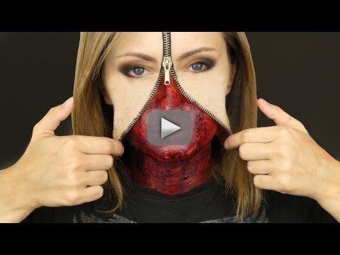 UNZIPPED ZIPPER FACE MAKEUP TUTORIAL - Buy my favorite makeup brushes @