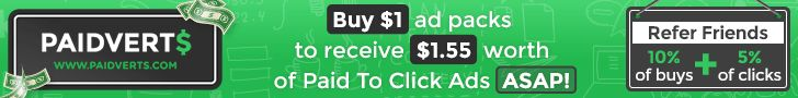 TOP PTC SITE FOR EARNING:  Paidverts - The Best PTC of 2014, I'm Earning $45...