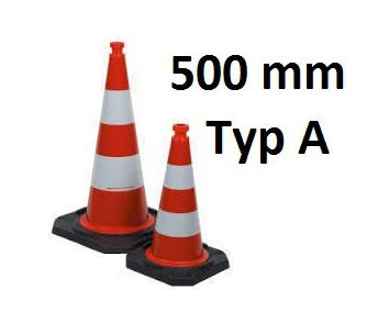 Leitkegel / Reflexkegel 500mm RA1 #Leitkegel #Reflexkegel #RA1 #Baustelle #Absicherung #Sicherung #Baustellenabsicherung #Baustellensicherung #Unfall #Panne #Verkehrssicherung #Verkehrssicherheit #Verkehr #VKSB