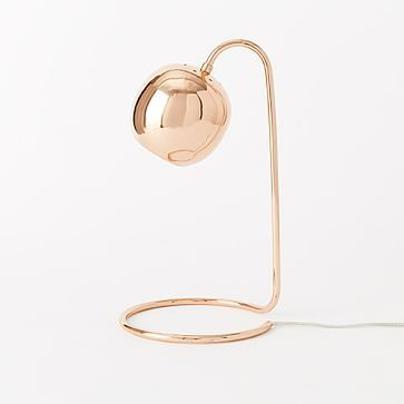 Scoop Table Lamp. See more Copper inspirations at http://www.brabbu.com/en/inspiration-and-ideas/ #CopperLighting #CopperDesign #CopperDecoration