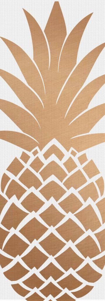 I Pineapple  Yoga Mat