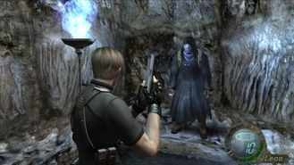 Image result for resident evil 4 merchant