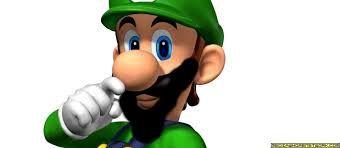 luigi with a beard
