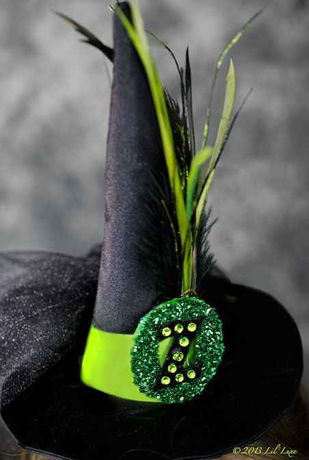 Witch Hat for Wicked Witch of the West of Oz or Wicked by liluxe