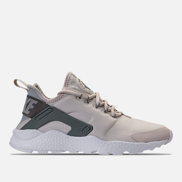 173a7a41cf326 Right view of Women s Nike Air Huarache Run Ultra Casual Shoes in Light  Bone Light Pumice Dark Stucco
