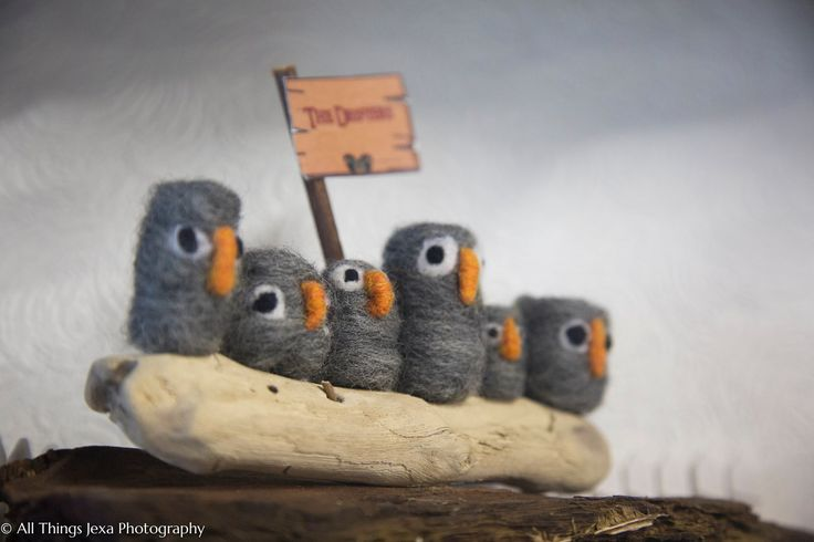 """The Drifters"" needle felted by All things Handcraft, Pebblewood Ireland."