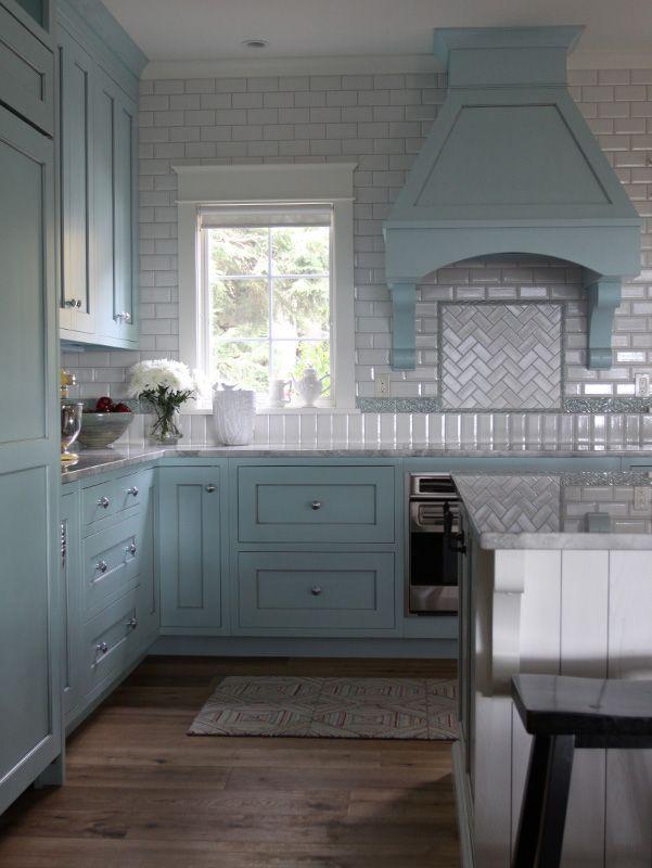 Lake Michigan Cottage   Kathryn Chaplow Interior Design. Cottage Design,  Blue Kitchen, Custom Nice Look