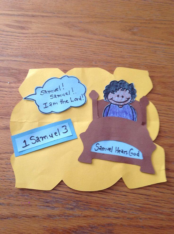 Samuel Bible Craft Bible Crafts By Let Pinterest